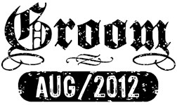 Groom August 2012 t-shirts