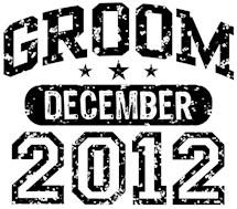 Groom December 2012 t-shirts