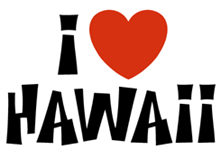 I Love Hawaii t-shirts