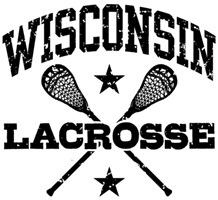 Wisconsin Lacrosse t-shirts