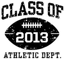 Class of 2013 Football t-shirts