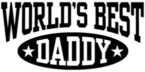 World's Best Daddy t-shirts