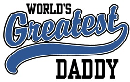 World's Greatest Daddy t-shirts