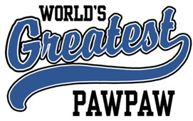 World's Greatest PawPaw t-shirts
