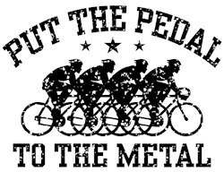 Pedal To The Metal (male) t-shir