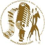 KeysDAN Logo (Molten Gold)