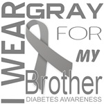 I Wear Gray For My Brother Diabetes Awareness