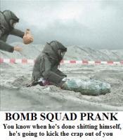 BOMB SQUAD PRANK