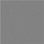 Black White Grey Squares Swirl