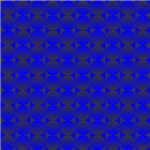 Blue Black Circles