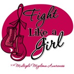 Fight Like a Girl Multiple Myeloma Shirts and Gift