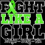 Non-Hodgkins Lymphoma Fight Like a Girl Shirts