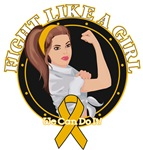 Appendix Cancer Fight Like A Girl Rosie Shirts