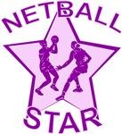 Pink and Purple Netball