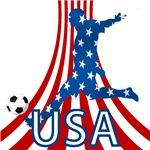 USA soccer player