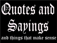 SMART, WITTY QUOTES & SARCASTIC SAYINGS