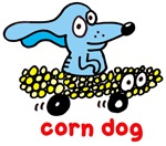 Corn dog on wheels