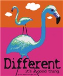Different Flamingo