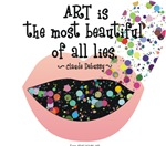 Art a Beautiful Lie II