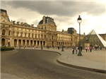 Cloudy Louvre