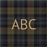 Hastings Hunting Tartan Monogram
