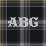 Hastings Dress Tartan Monogram