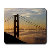 SAN FRANCISCO MOUSEPADS / GIFTS
