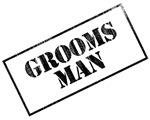 Groomsman Stamp