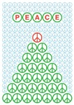 Peace Christmas Tree