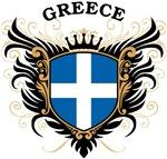 Greek Flag T-shirts & Gifts
