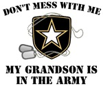 My grandson is in the Army
