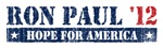 Ron Paul Hope for America