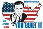 You Built It Mitt Romney