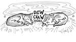 Dew Claw Logo Gear