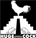 Huge Mythical Cock Black