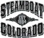 Steamboat Colorado Black Silver