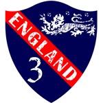England - Crest - Blue