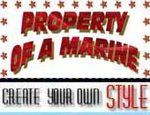 Property Of A Marine | Trendy T-Shirts & Gifts