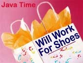 Will Work For Shoes | Shoe Shop | Gifts | Apparel