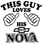 This Guy Loves his Chevy New Nova