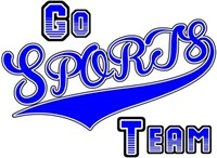 Go Sports Team Blue