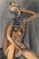 Freud Female Sexuality Quote on Picasso
