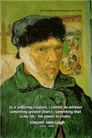 Van Gogh Bandaged Ear: On suffering & Creation