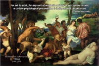 Intoxication of Art Nietzsche and Bacchanal Painting