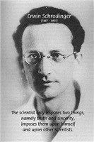 Erwin Schrodinger: Truth & sincerity