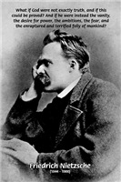 Nihilism: Vanity God and Nietzsche