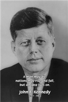 Power of the Idea: US President John F. Kennedy