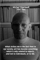 Social Criticism: Michel Foucault Art and Life