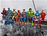 Superheroes on Girder
