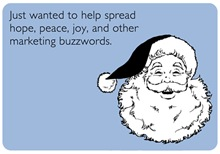 Holiday Buzzwords